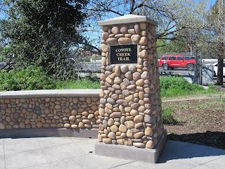 het noorderlijkste punt van de zuidelijke Coyote Creek Trail
