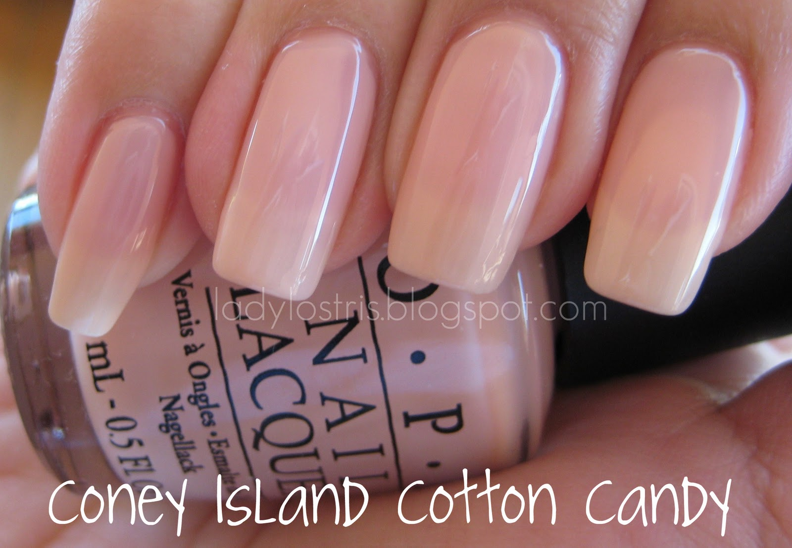 Lady Lostris Beauty My First Opi Coney Island Cotton Candy