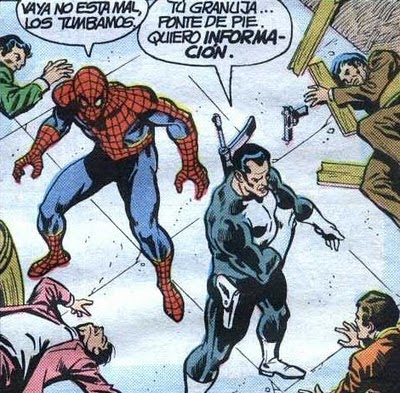 spiderman & Punisher mano a mano