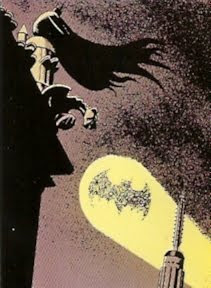 Batseñal llamando a Batman
