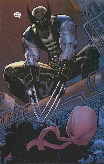Wolverine echando piropos