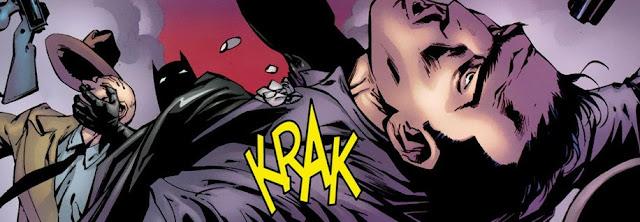 Batman parando los pies a la mafia