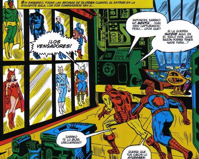 Spiderman & Ironman al rescate de los Vengadores