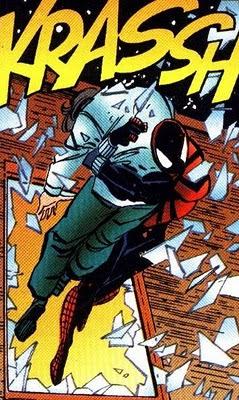 Spiderman no utiliza puertas habiendo ventanas