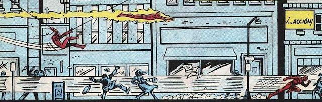 Spiderman & Antorcha Humana a la zaga de un raudo villano