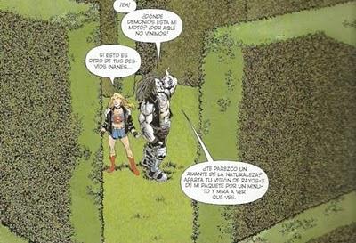 Supergirl & Lobo a punto de que les entre una urticaria