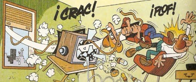mortadelo en el rodeo televisado