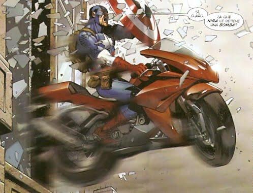 Capitán América en el Gran Prix