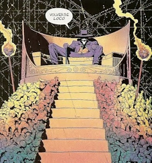 Joker en su trono