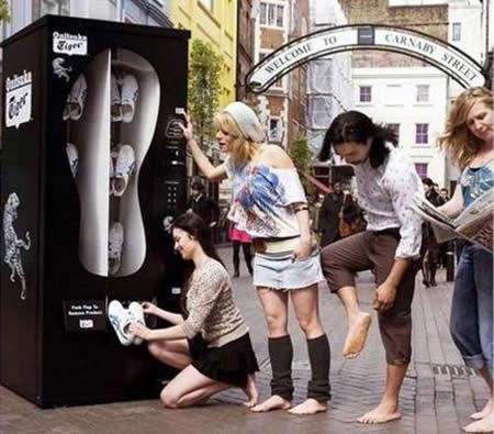 Compre en nike en la maquina de zapatillas