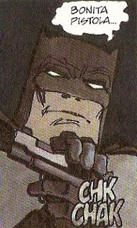 Batman acariciando a una amiga