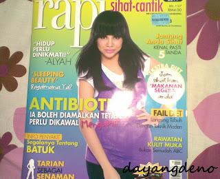 Ben Ashaari Dalam RAPI Magazine!