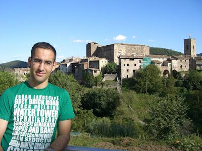 Castle of Santa Pau in La Garrotxa