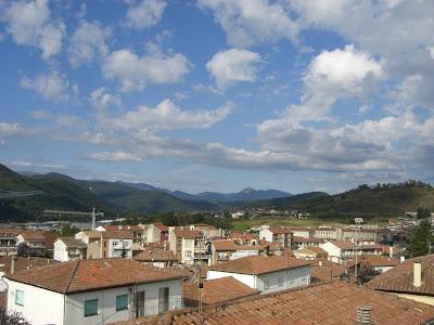 Olot and surroundings in La Garrotxa