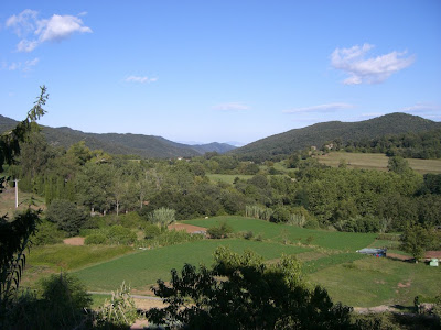 Landscape from Santa Pau in La Garrotxa