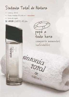 sintonía total natura perfume barato hombre