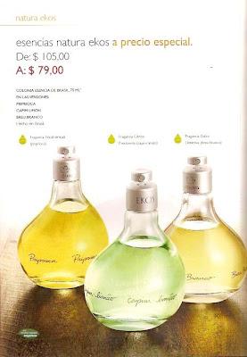 Natura Ekos Perfumes Priprioca capim limon breu branco