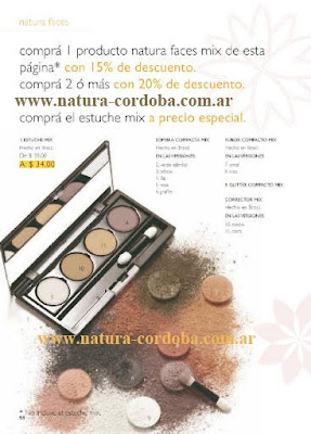 Natura faces mix