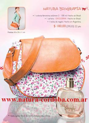 perfumes natura promocion