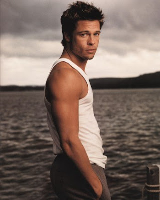 brad pitt hot body. taylor launter:that body. brad pitt:because of mr.and ms. smith so hot