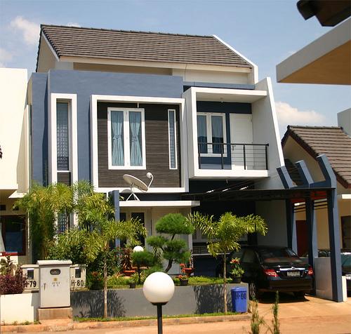 eksterior rumah minimalis 2b