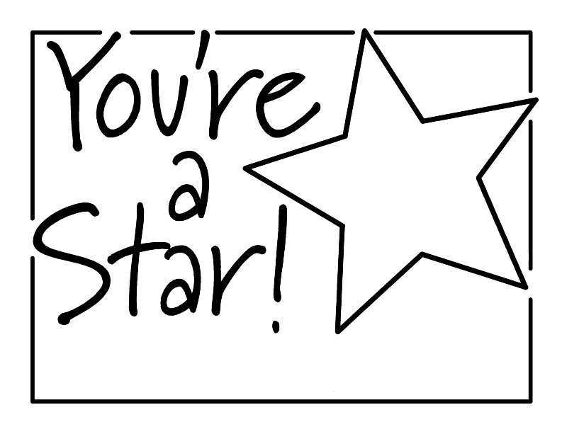 Star Student Award Printable  SaveBtsaCo