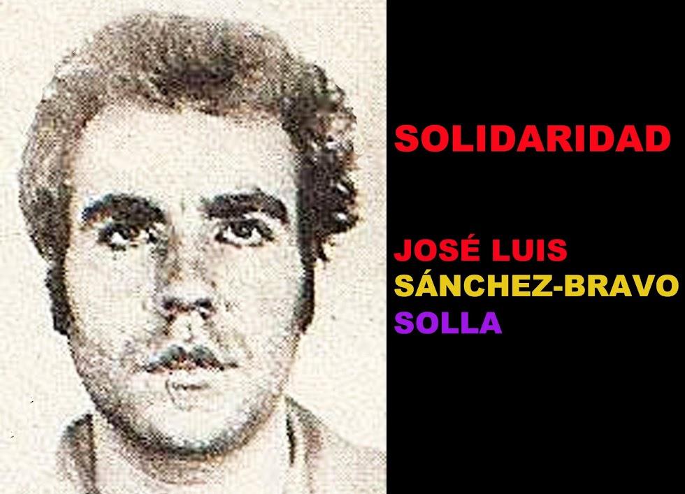 SOLIDARIDAD JOSÉ LUIS SÁNCHEZ-BRAVO