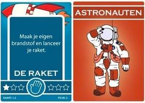 Speelkaarten Oma Gaat De Ruimte In !