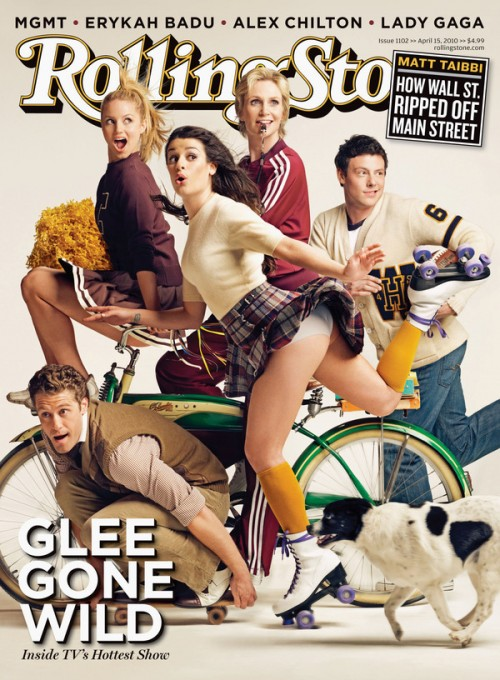 Check out the cast of Glee on the cover of the new Rolling Stone!