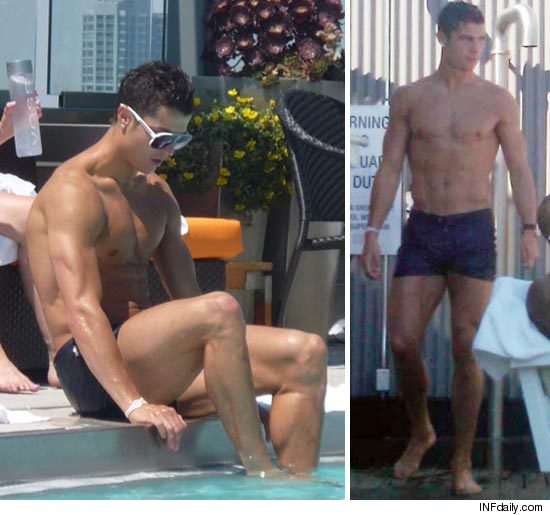 Cristiano Ronaldo half naked!!! OMG! Here are some pics of Cristiano Ronaldo ...