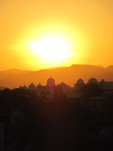 Udaipur - Rooftop Sunset