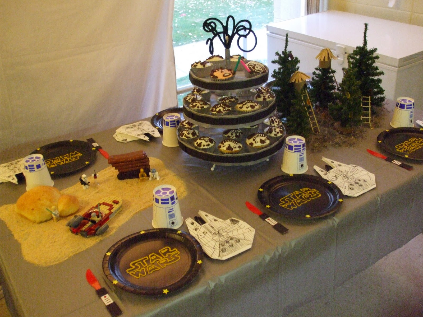 My Creative Stirrings Star Wars Birthday Party