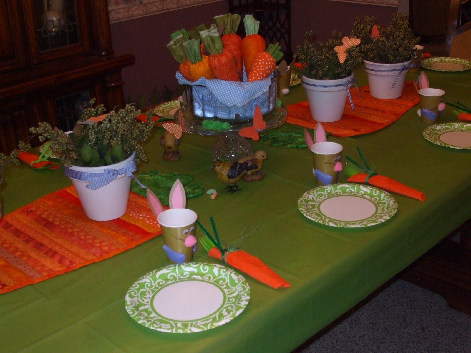 my creative stirrings rabbit birthday party