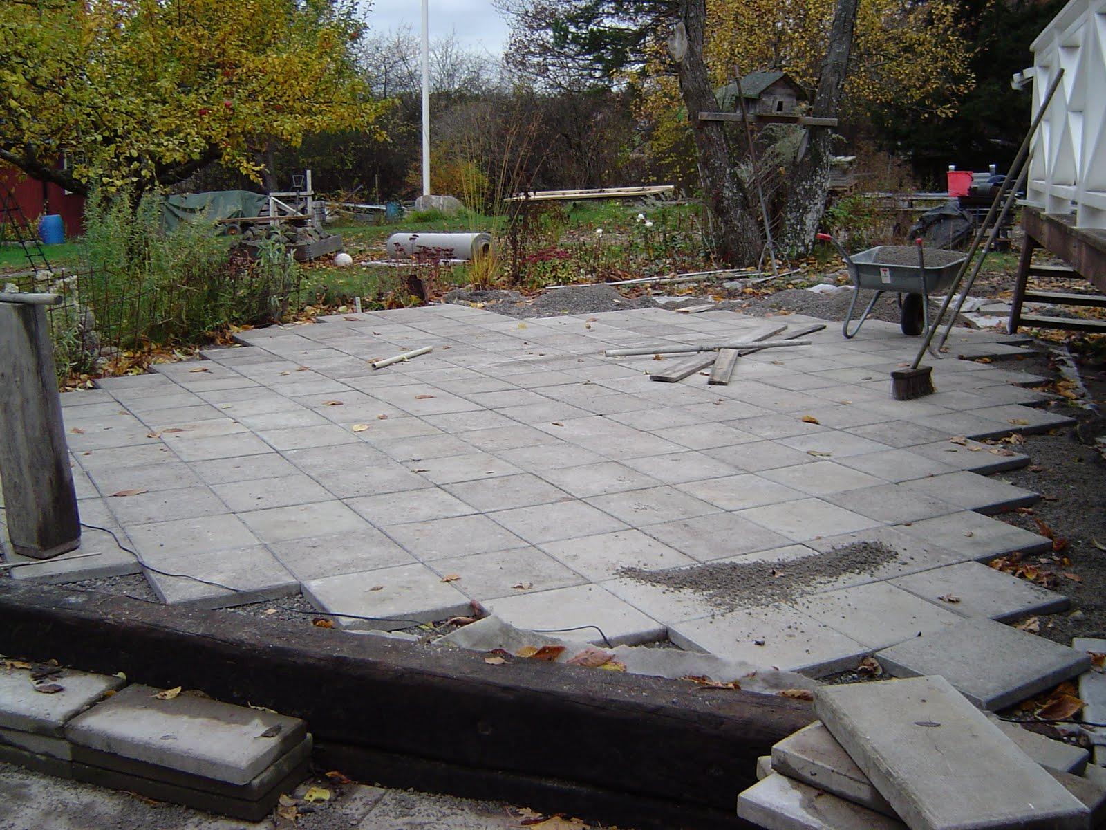 Mycket annat & lite betong: uteplats