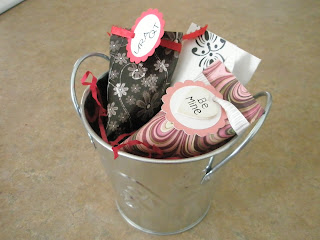 Sour Cream Container Valentines