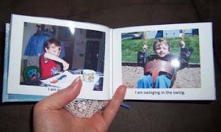 about me printable book