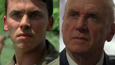 Alan Dale as the Charles Widmore of today