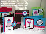 Stampin' Up! On a Pedestal Stamp Class