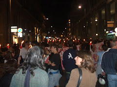Foto Fiaccolata 29 ottobre 2008 Palermo