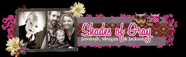 Shades of Gray Blog Design
