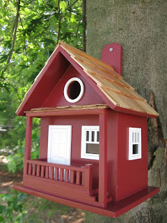 Decorative Cabin Birdhouse