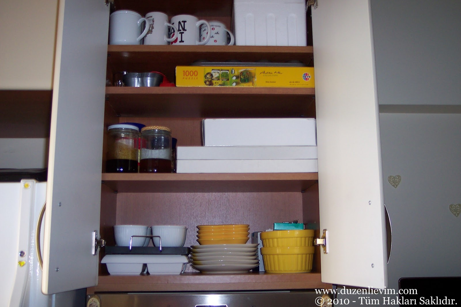 Düzenli bir mutfak için öneriler
