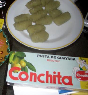 Pasta de Guayaba y Boniatillo Criollo.