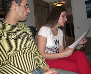 Vanessa lee su obra