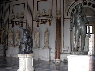 Esculturas del Museo Capitolino.