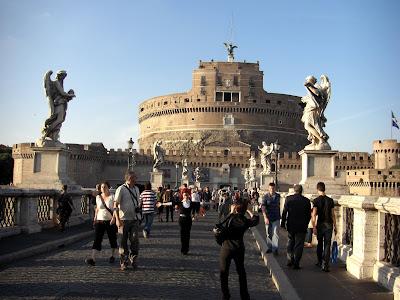 Castelo de Sant Angelo o Mausoleo de Adriano.