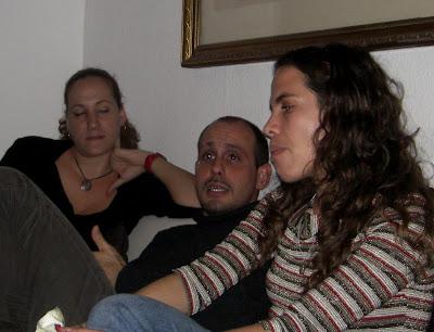 Los sociólogos Rebeca, Osnaide y Magela.