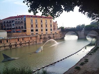 Rio Segura, La Sardina y puente Viejo o de los Peligros