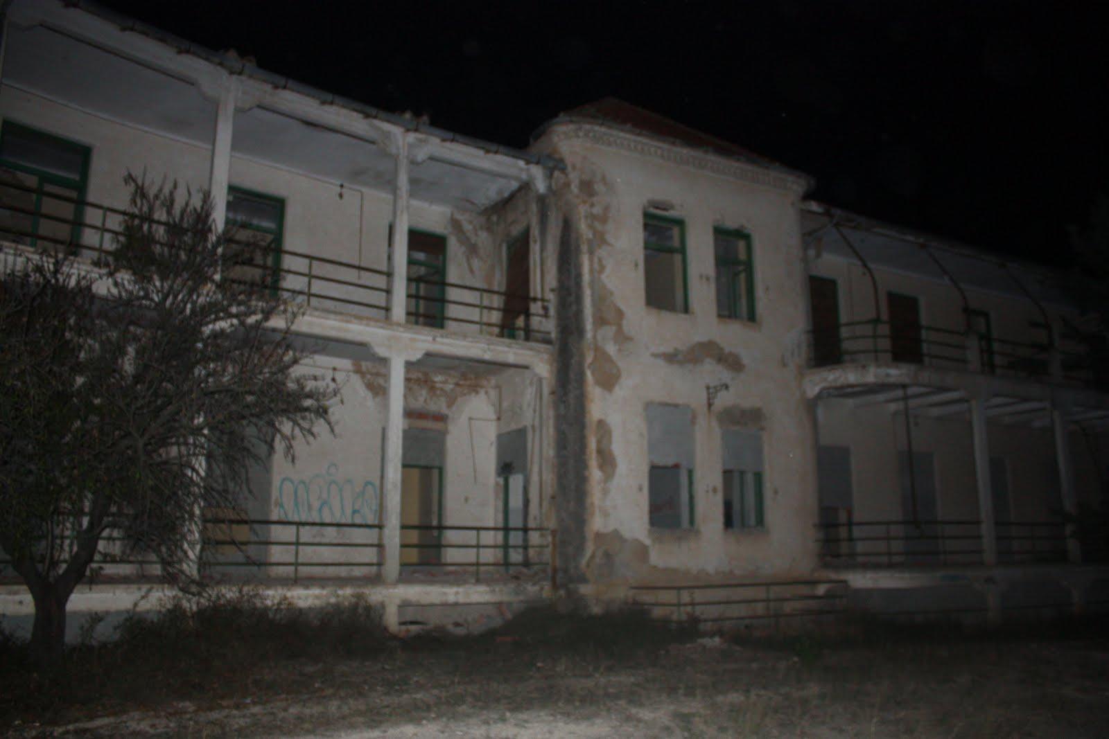 encierro e investigacion paranormal en el sanatorio de sierra espuña Tuberculos+027
