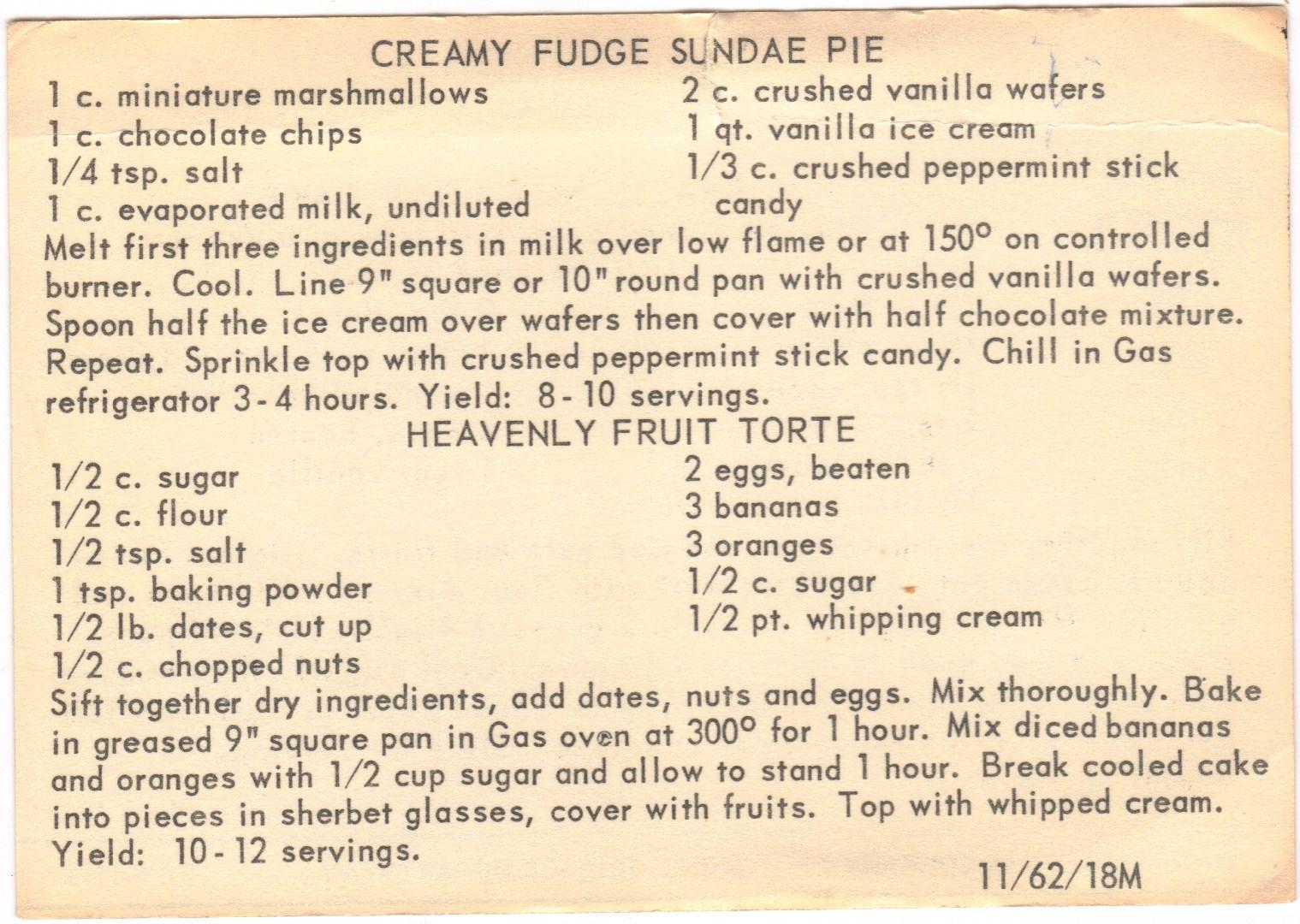 ... Box: Farmers Market and a Backyard Party: Creamy Fudge Sundae Pie